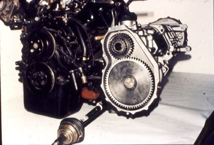 V6 Ford Transversal