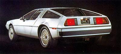 Photo arrière du prototype DMC-12